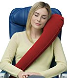 Travelrest - Ultimate Travel Pillow - Ergonomic - Lean Into It To Sleep - Fall Asleep Faster....Stay Asleep Longer (Rolls Up Small)
