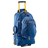 Caribee Fast Track 75 Travel Pack/ Rucksack with Wheels - New 2016 Model (blue)