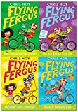 Chris Hoy Collection Flying Fergus Series 4 Books Set (The Big Biscuit Bike Off, The Great Cycle Challenge, The Best Birthday Bike, The Championship Cheats)