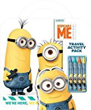 Despicable Me Minions Travel Activity Pack with Crayons and Activities, Carry handle for Ease
