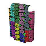 Graffiti 10031, Super Graphic, High Quality Interchangeable Luggage Insert with Colourful Design, Size: 20