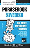 English-Swedish phrasebook and 3000-word topical vocabulary