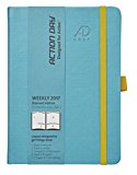 Action Day 2017 - World´s Best Action Planner - Designed to Get Things Done - Weekly Daily Monthly Yearly Agenda, Calender, Appointment, Organizer & Goal Journal (6x8/Thread-Bound/Turquoise)