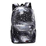 G1 New hot sale Galaxy backpack unisex school bag travel bag (black)