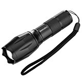 Led Flashlight, MAIKAIRUI Tactical Torch,Water Resistant Camping Torch,Cree XM-L T6 Military Brightest Flashlight