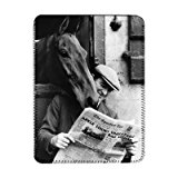 No1 Arkle looking over the shoulder of head.. - iPad Cover (Protective Sleeve) - Art247 - IPads 1 And 2
