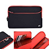 Kroo Carrying Neoprene Sleeve Case with Pocket for 15.6-Inch Notebooks in Red (ND15G2R1-FBA)