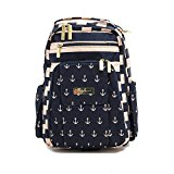 Ju-Ju-Be Legacy Nautical Collection Be Right Back Backpack Changing Bag, The Commodore