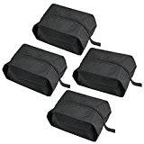 [4 Pack]Travel Shoe Bags/Zilong Waterproof Dress Shoes Bags Pouches Case /Storage Bags for Small Object/Outdoor Sport Foldable Fashion Portable Breathable Shoes Tote Bags Suitable for Female and Male
